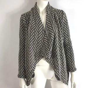 BB Dakota Open Front Cardigan Knit Sweater sz XS